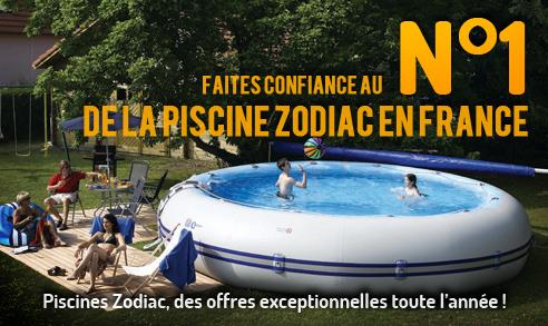 Faites confiance au numéro 1 de la piscine Zodiac