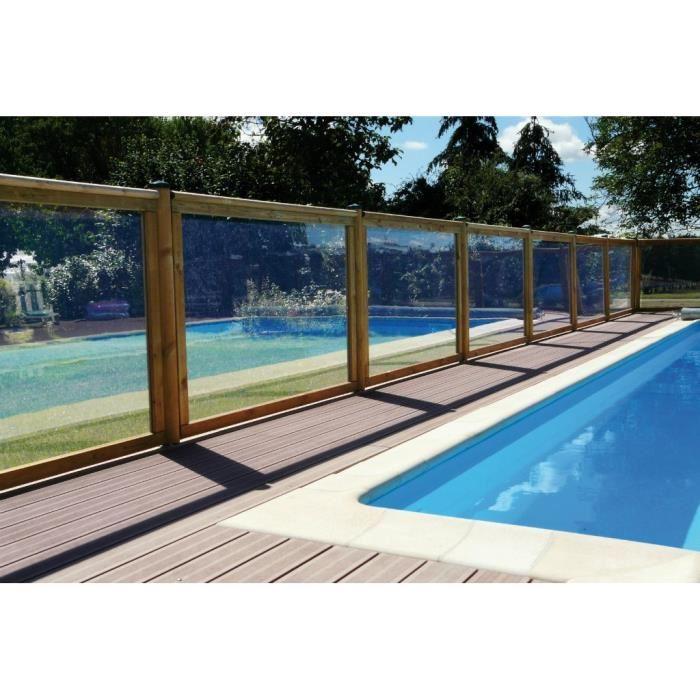 elegant barrire de scurit piscine borale with piscine bois castorama. Black Bedroom Furniture Sets. Home Design Ideas