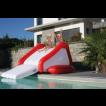 Toboggan de piscine Gonflable avec système hydrojet