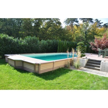 Zodiac azteck rectangle semi enterr e for Piscine zodiac azteck