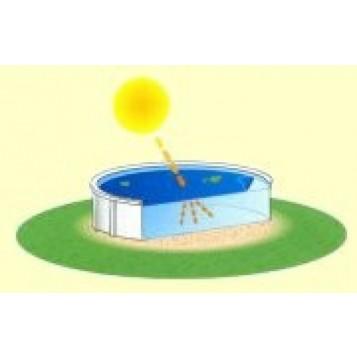 Bâche à bulles octogonale allongée 5.50x3.50m, 300µ