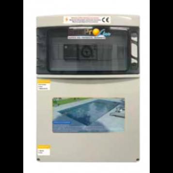 Coffret électrique Sun Pro Line, Filtration + projecteur