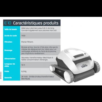 Robot aspirateur MAYTRONICS E10 (spécial ZO)