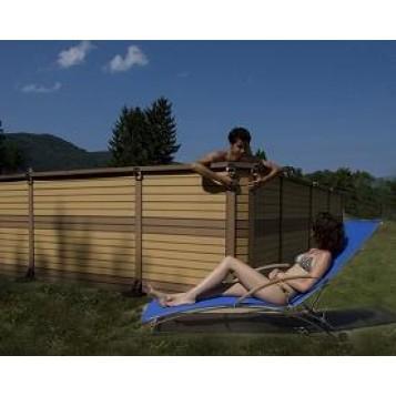 zodiac azteck semi enterrer carr e 4m h. Black Bedroom Furniture Sets. Home Design Ideas