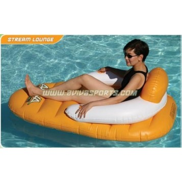 Chaise longue gonflable Aviva Steam Lounge
