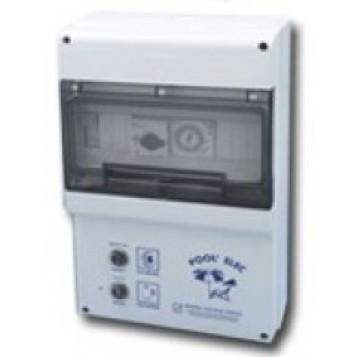 Coffret électrique Pool'Elec, Filtration + 2 projecteurs