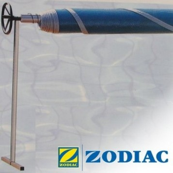 Enrouleur inox surélevé Zodiac 5 à 6.5m