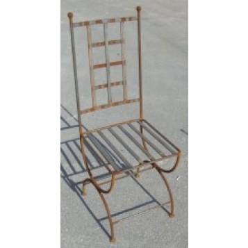 Lot de 2 chaises fer forgé Ventoux