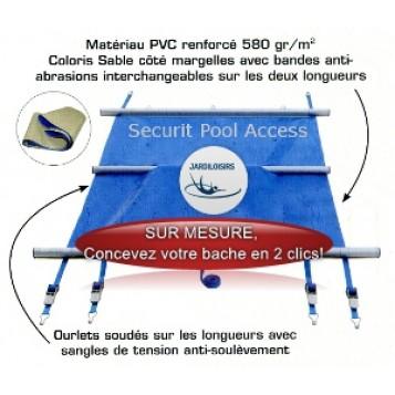 Couverture à barres piscine Securit Pool Access SUR MESURE