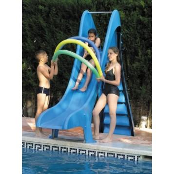 Toboggan piscine droit 1.50m