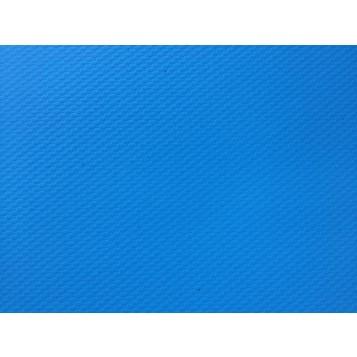 Toile PVC Zodiac bleue, carré de 50x50cm