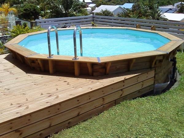 piscine bois ma va 400. Black Bedroom Furniture Sets. Home Design Ideas