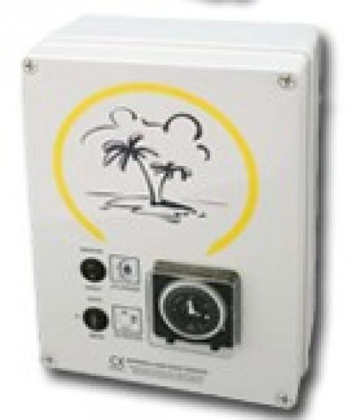 Coffret lectrique d tente filtration for Coffret electrique exterieur jardin