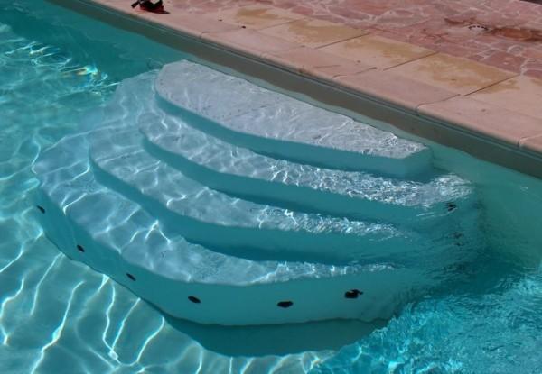 escalier de piscine ares hauteur 100cm. Black Bedroom Furniture Sets. Home Design Ideas