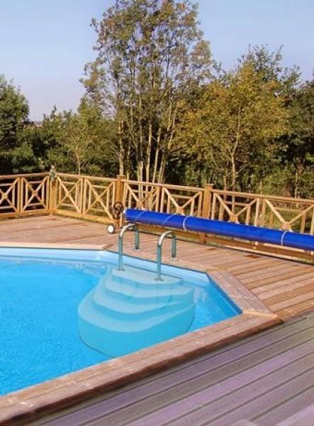 escalier piscine athena hauteur 120cm. Black Bedroom Furniture Sets. Home Design Ideas