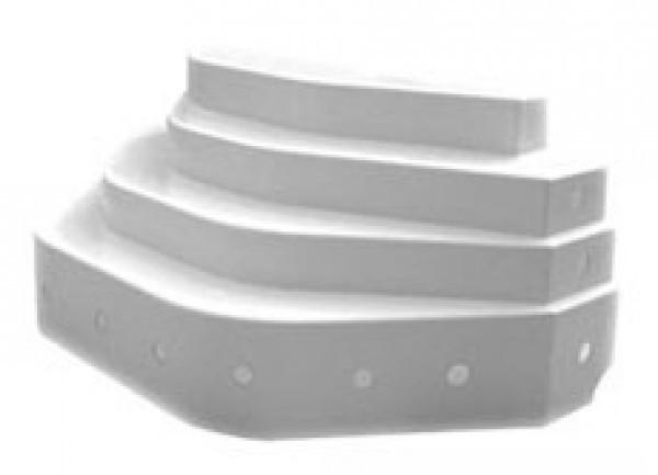 Escalier de piscine ares hauteur 80cm - Escalier piscine a poser sur liner ...