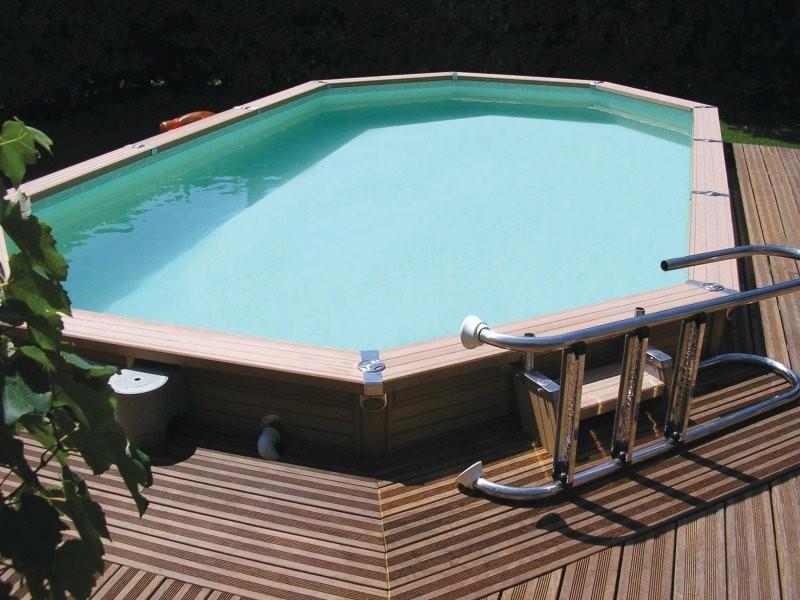 Zodiac azteck semi enterrer ovale hauteur for Progetti di piscine e pool house