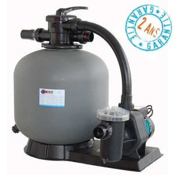 Platine de filtration vipool 10m h for Platine de filtration piscine