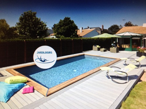Piscine bois enterr e maeva 5x3m for Kit piscine enterree
