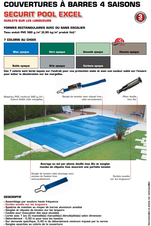 couverture barres apf securit pool excel sur mesure. Black Bedroom Furniture Sets. Home Design Ideas