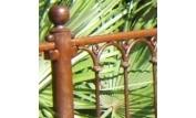 Module Provençale Deluxe complet de 98cm ente axes, avec poteau sur platine et accessoires
