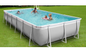 Piscine hors-sol autoportante Kit Easy 7.4 x 4m