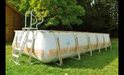Bâche hiver piscine KD TECK 5*3 m (à partir de 2010) - modèle original
