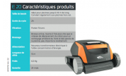 Robot aspirateur MAYTRONICS E20