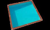 Zodiac Azteck à enterrer carrée 3.65m - H 1.4m