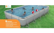 Piscine hors-sol autoportante Kit Easy 8.25 x 4m