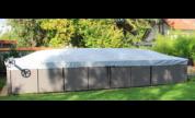 Couverture COVTOP Poolco Sur Mesure pour piscine AZTECK