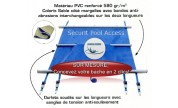Couverture piscine Securit Pool Access SUR MESURE