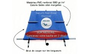 Couverture à barres Securit Pool Excel Discover SUR MESURE