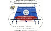 Couverture à barres Securit Pool Summum Flex SUR MESURE