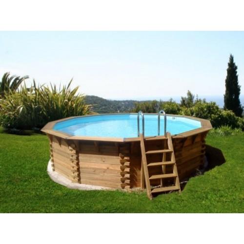 Piscine bois ma va 400 h for Accessoire piscine 78