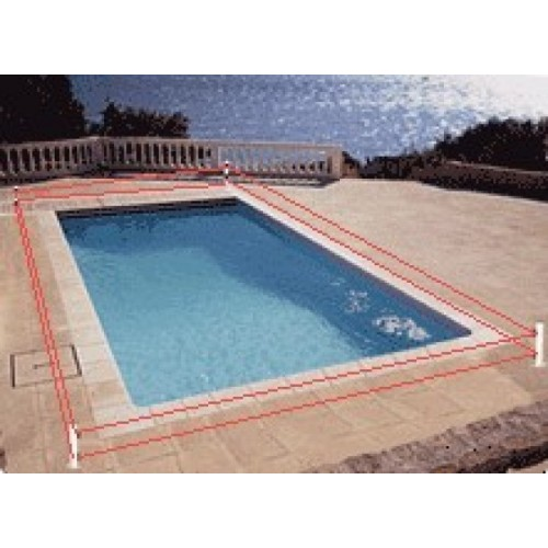 Alarme de piscine primaprotect kit 3 bornes for Alarme perimetrique piscine