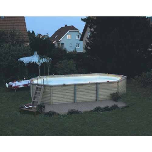 Zodiac azteck hors sol ovale 7x5m for Piscine hors sol zodiac azteck