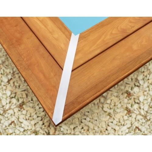 Piscine bois hors sol maeva 10x5m escalier for Piscine hors sol bois de qualite