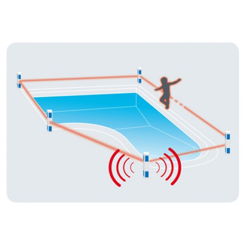 Alarme de piscine primaprotect kit 5 bornes for Alarmes de piscine