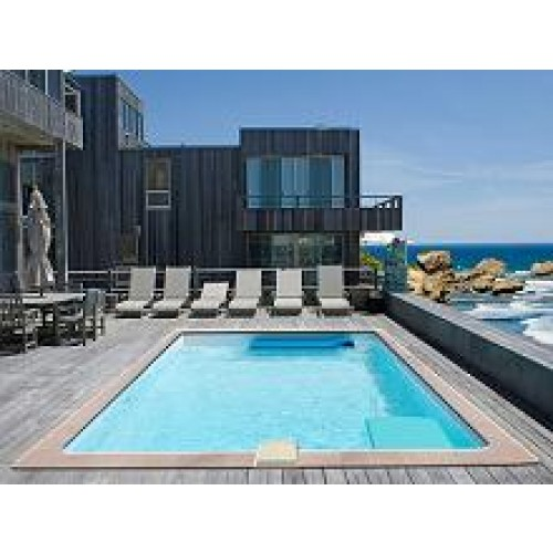 Zodiac azteck enterrer rectangulaire 5 3x3 65m for Piscine 3x3