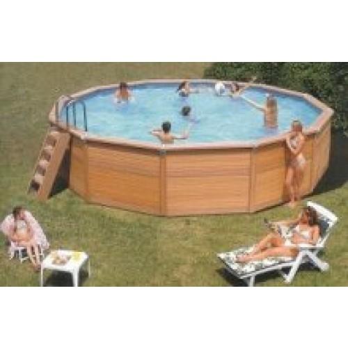 Zodiac azteck hors sol ronde for Monter une piscine hors sol