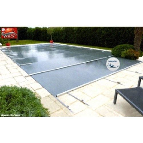Couverture piscine securit pool access sur mesure bache for Baches piscine sur mesure